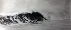 Charcoal on paper 30x60 inches