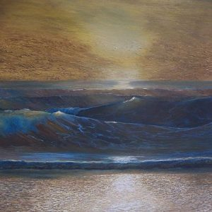 Emotional turmoil | 23 x 23 inch, oil on canvas. £500