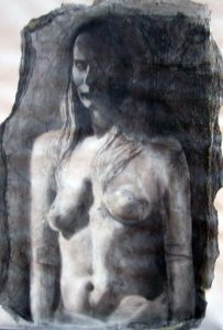Female torso pencil drawing | £650