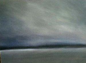 Misty Grey | 14 x 18 inch. £350