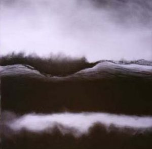 Moving Wave 2 | 48 x 48 inch, charcoal on paper. SOLD £950