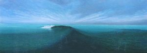 Passing wave | 29 x 79 inch. SOLD