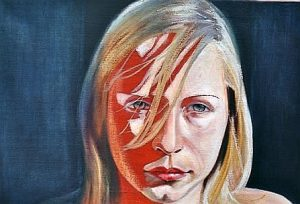 That Look | oil on canvas | 30 x 20i inch. £850